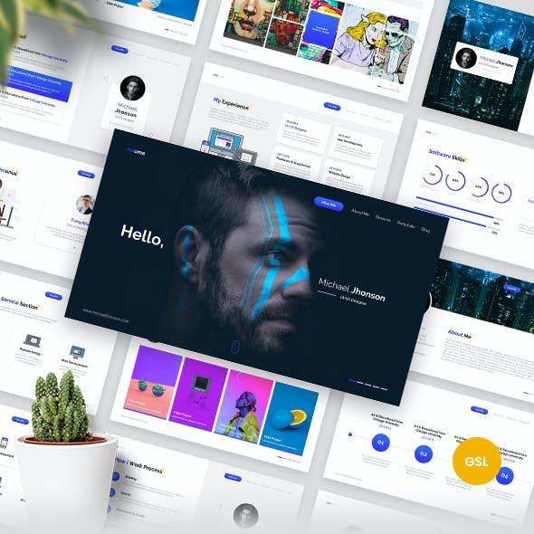 Resume - Google Slides Template