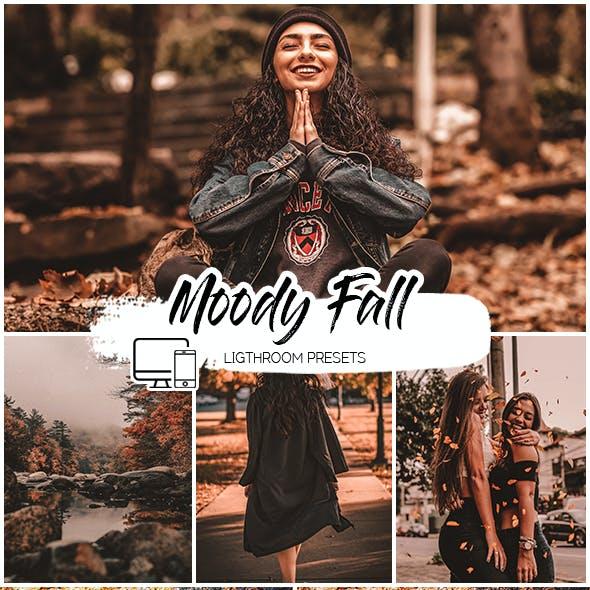 Moody Fall Lightroom Presets