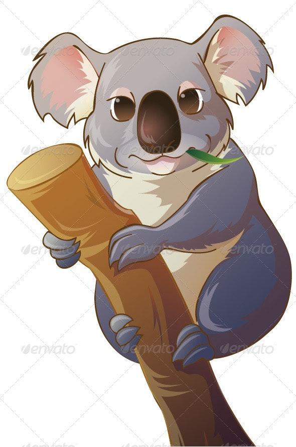 Koala Bear - Animals Characters