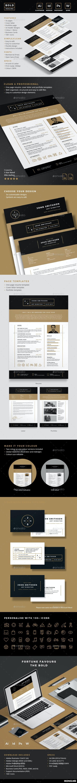 Bold Resume - Resumes Stationery