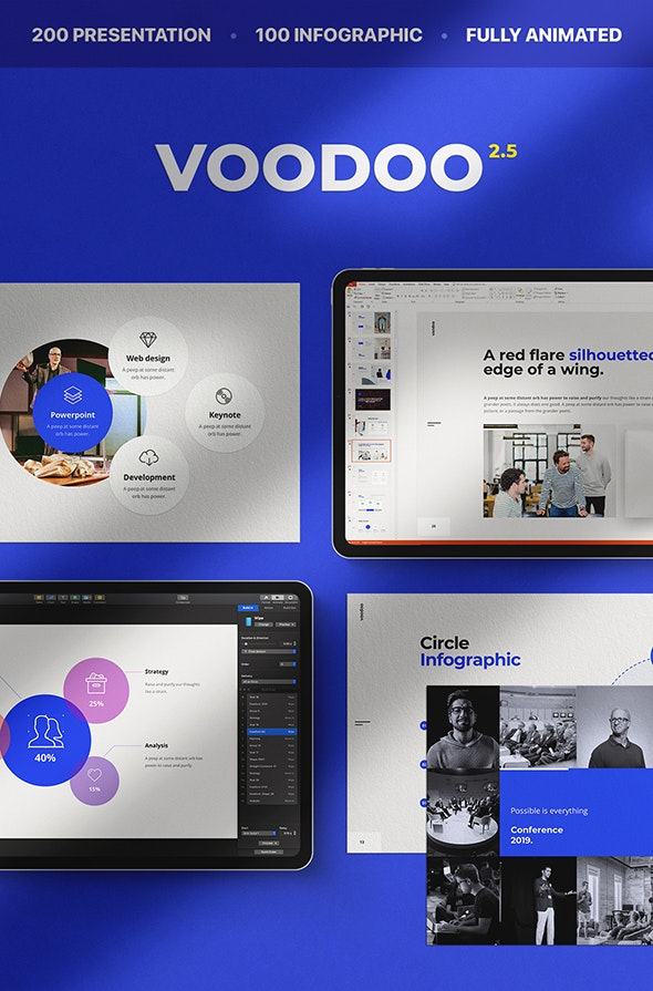 Voodoo Powerpoint Template - Business PowerPoint Templates