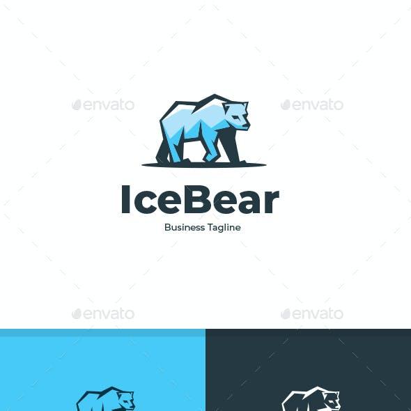 Ice Bear Logo Template