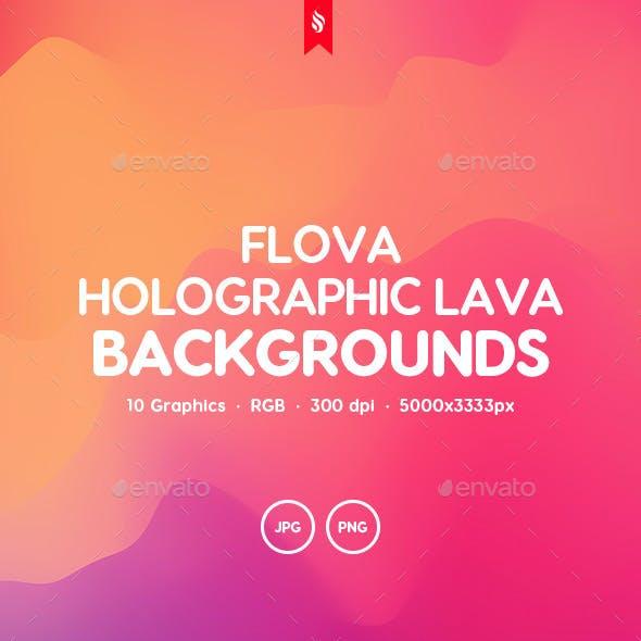 Flova - Holographic Lava Backgrounds