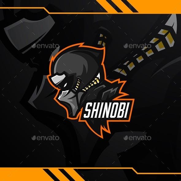 Shinobi Esport Logo Template