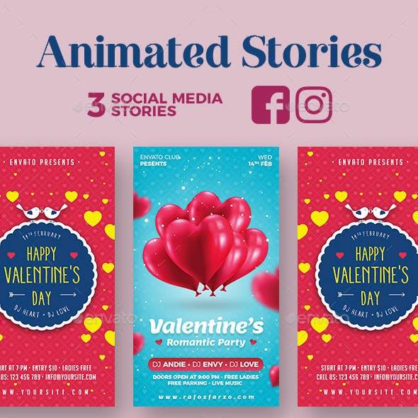 Animated Valentine Stories
