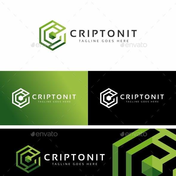 Criptonit C Letter Logo