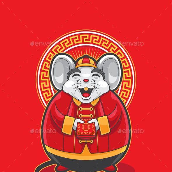 Fat Mouse Cartoon
