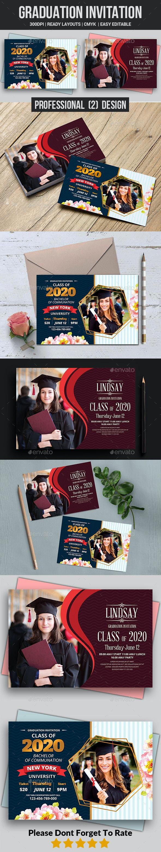 Graduation Invitation Templates - Invitations Cards & Invites