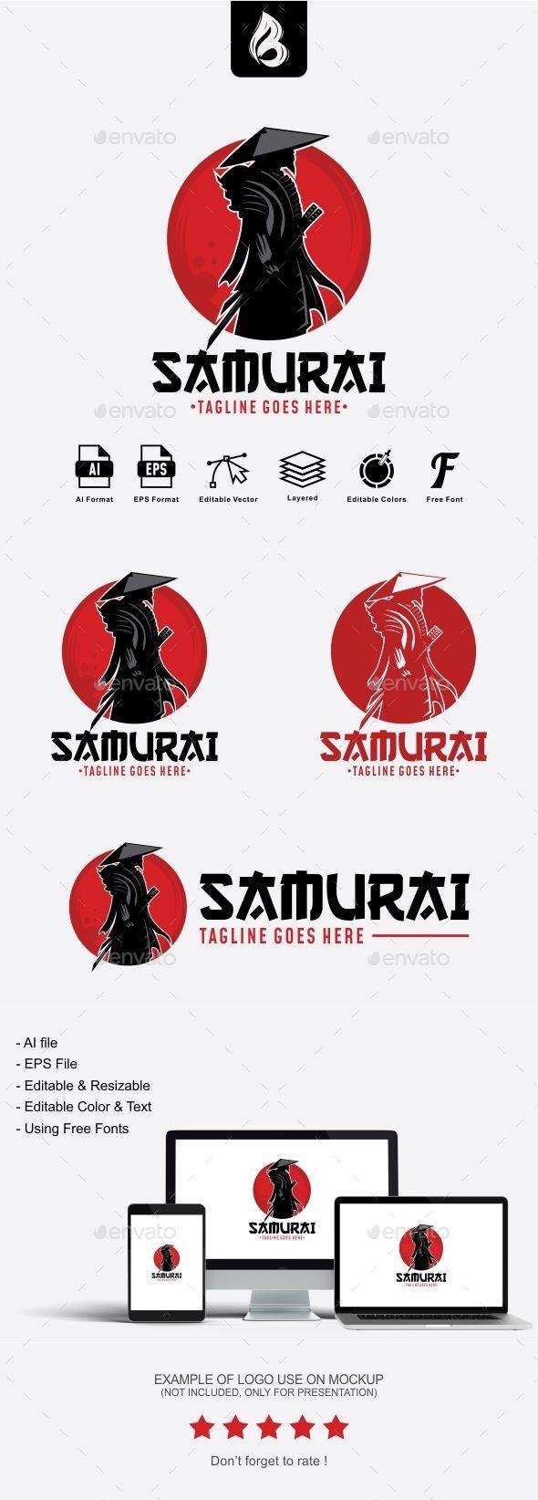 Samurai Logo - Humans Logo Templates