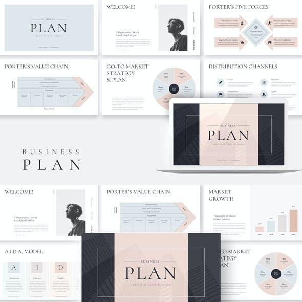 Business Plan Google Slides Presentation Template