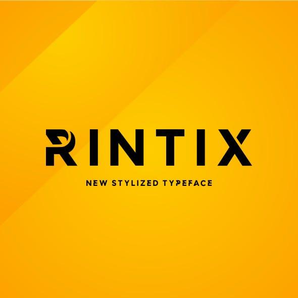 Rintix - Stylized Font