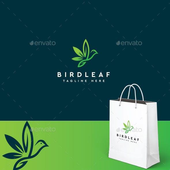 Bird Leaf Logo