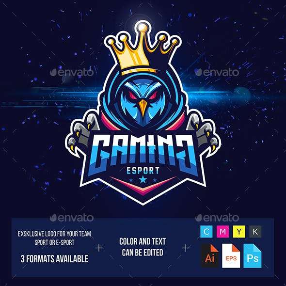 Owl Logo Esport for Gaming