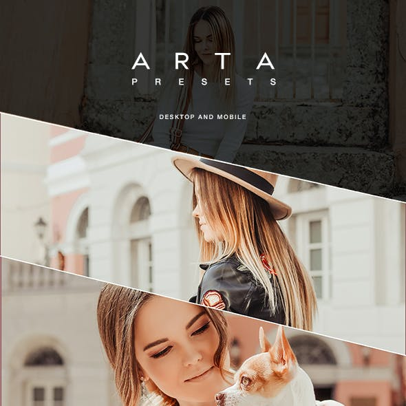 ARTA PRG Preset For Mobile and Desktop Lightroom