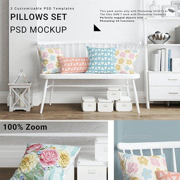 Pillows Mockup Set