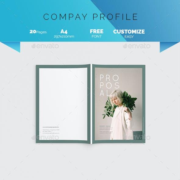 Brand Proposal Brochure