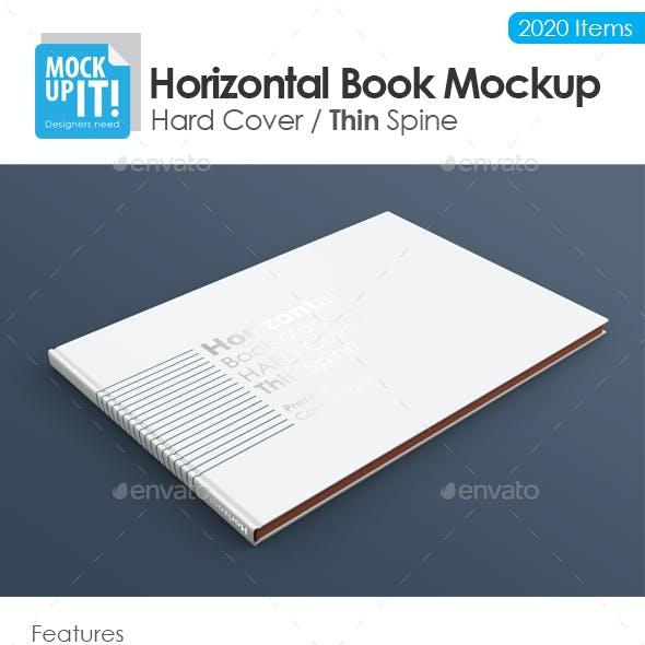Horizontal A4 Book Mockup