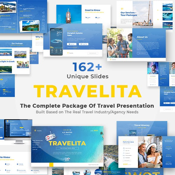 Travelita - The Complete Package of Travel Presentation