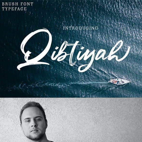 Qibtiyah Brush Font
