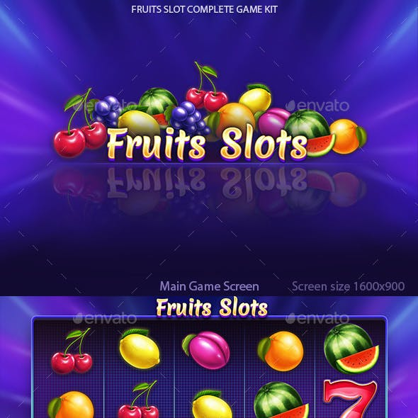 Fruits Slot Full Game Kit