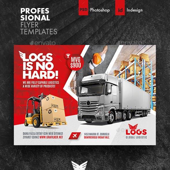 Logistics Flyer Templates