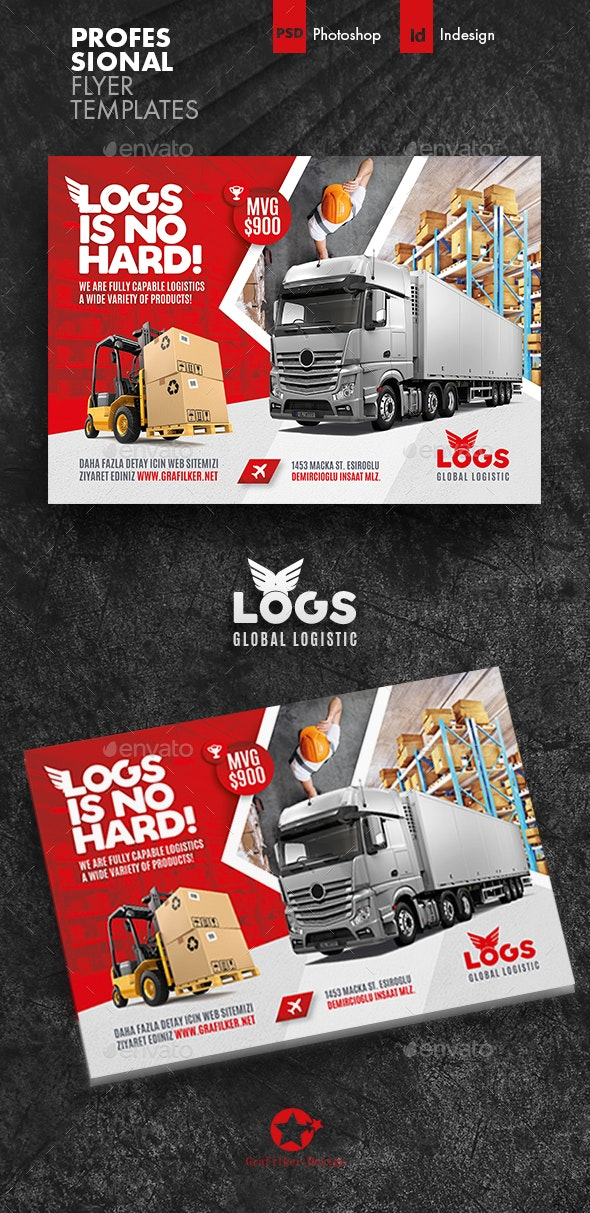 Logistics Flyer Templates - Corporate Flyers