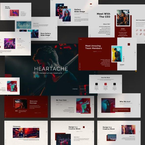 Heartache Creative Keynote Presentation