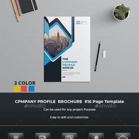 Company Profile Brochure Template Indesign
