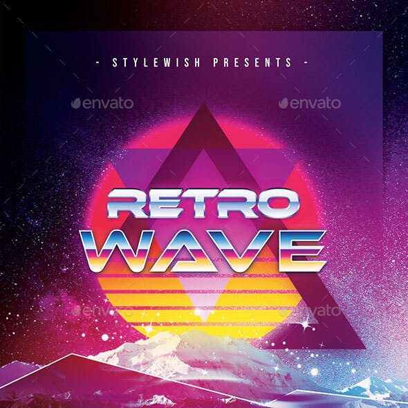 Retro Wave Flyer
