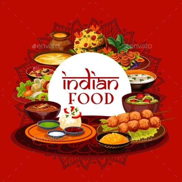 Indian Food, Indian Cuisine - Food Objects