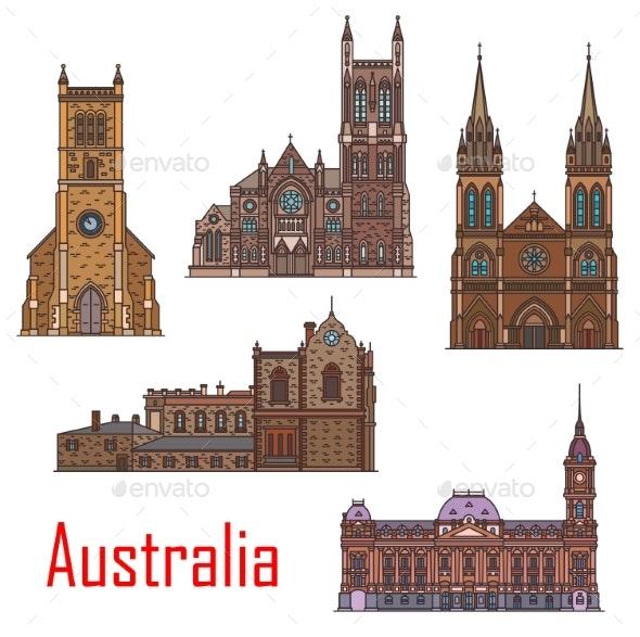 Australian Famous Buildings - Buildings Objects