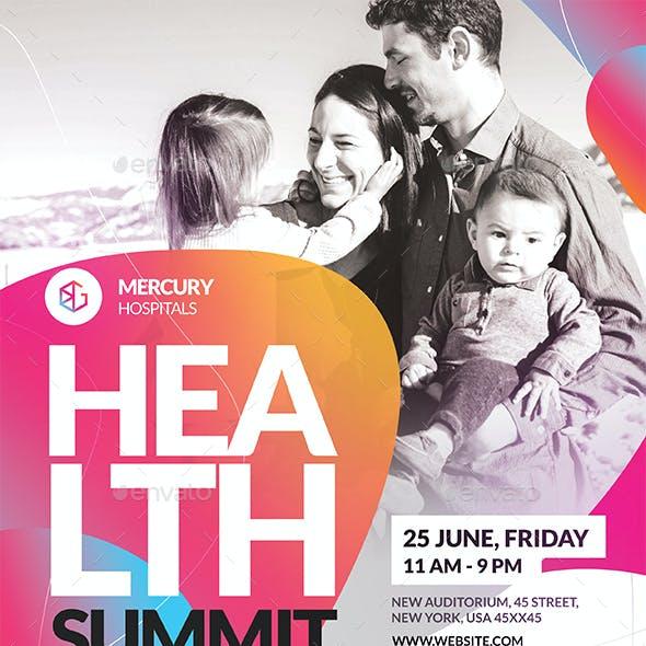 Health Summit Flyer