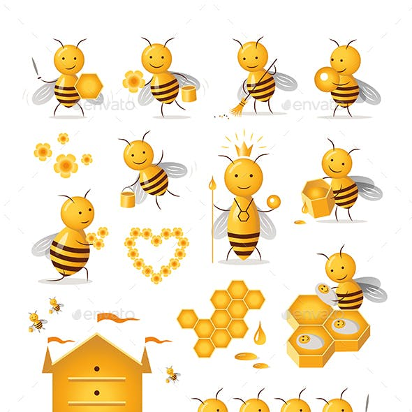 Set of Bees