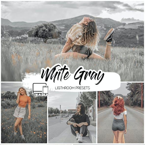 White Gray Lightroom Presets