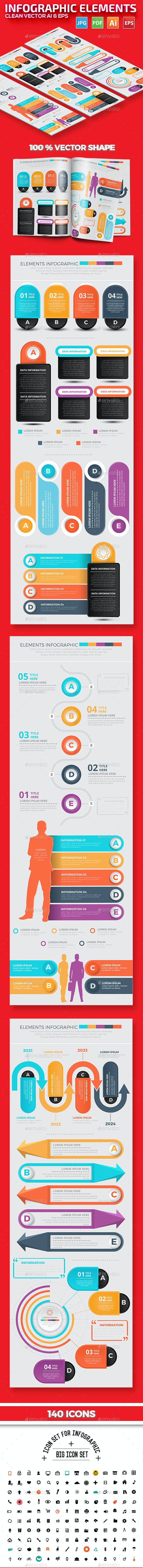 Infographic Elements Design - Infographics