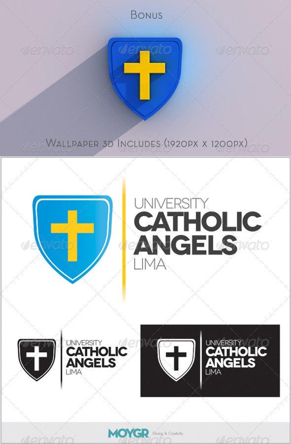 University Catholic - Logo - Symbols Logo Templates