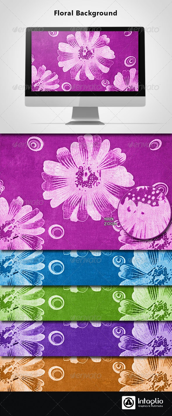 Floral Background 13 - Backgrounds Graphics