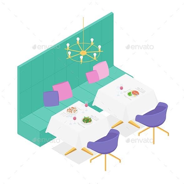 Isometric Restaurant