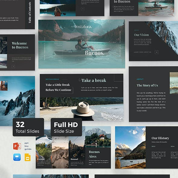Buenos Powerpoint Template