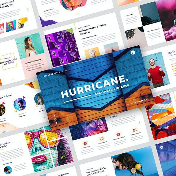 Hurricane – Creative Business Google Slides Template