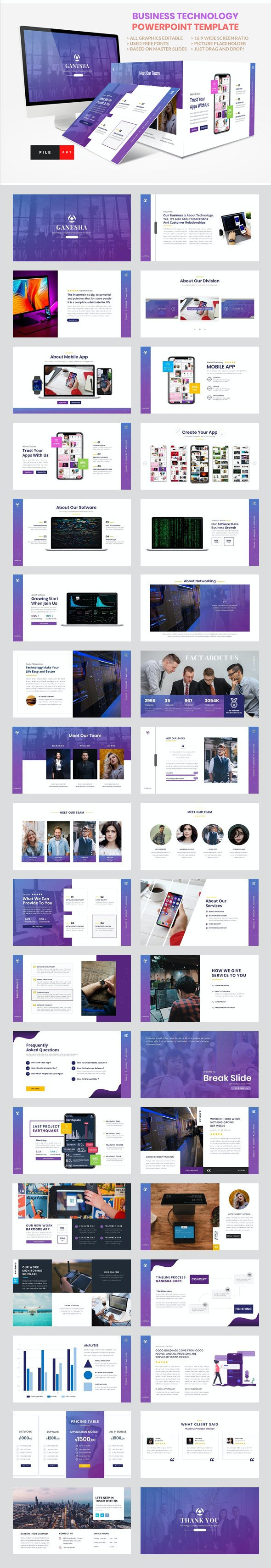 6 Best Presentation & Powerpoint Templates  for February 2019