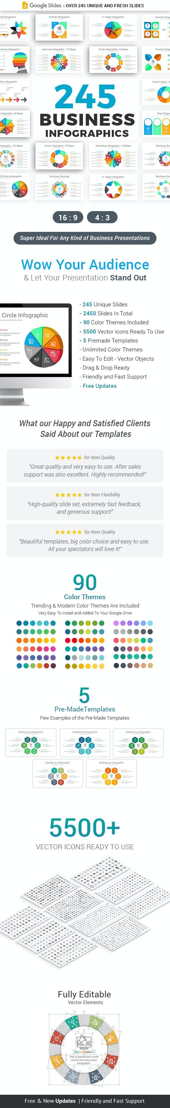 Infographics Pack-3 Google Slides Template - Google Slides Presentation Templates