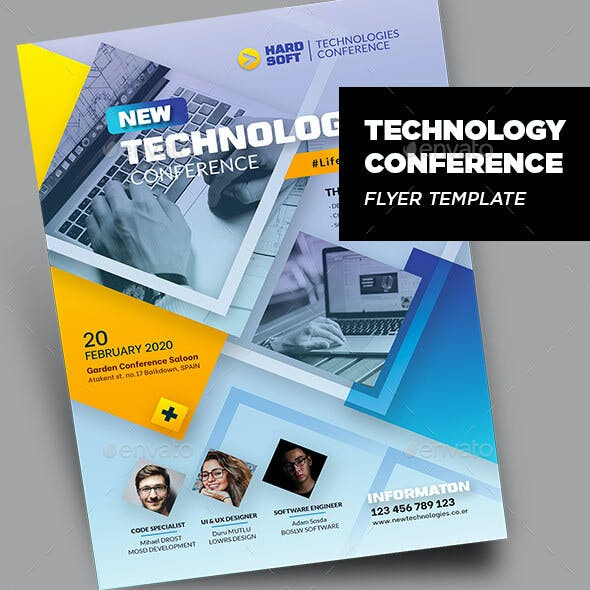 Technology Conference Flyer