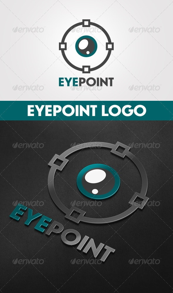Eye Point Logo - Objects Logo Templates