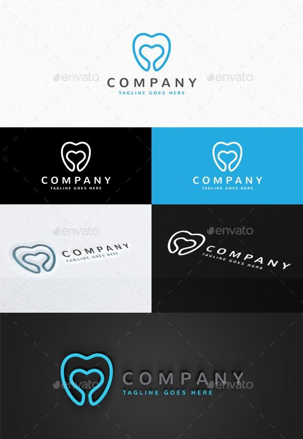 Dental Love Logo - Objects Logo Templates