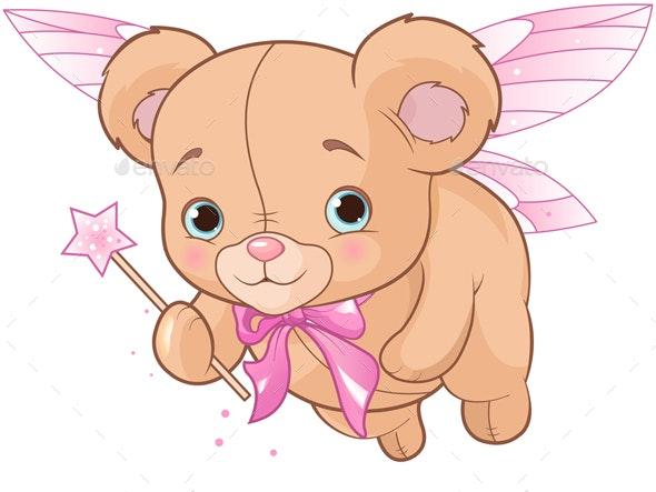 Flying Teddy Bear - Animals Characters