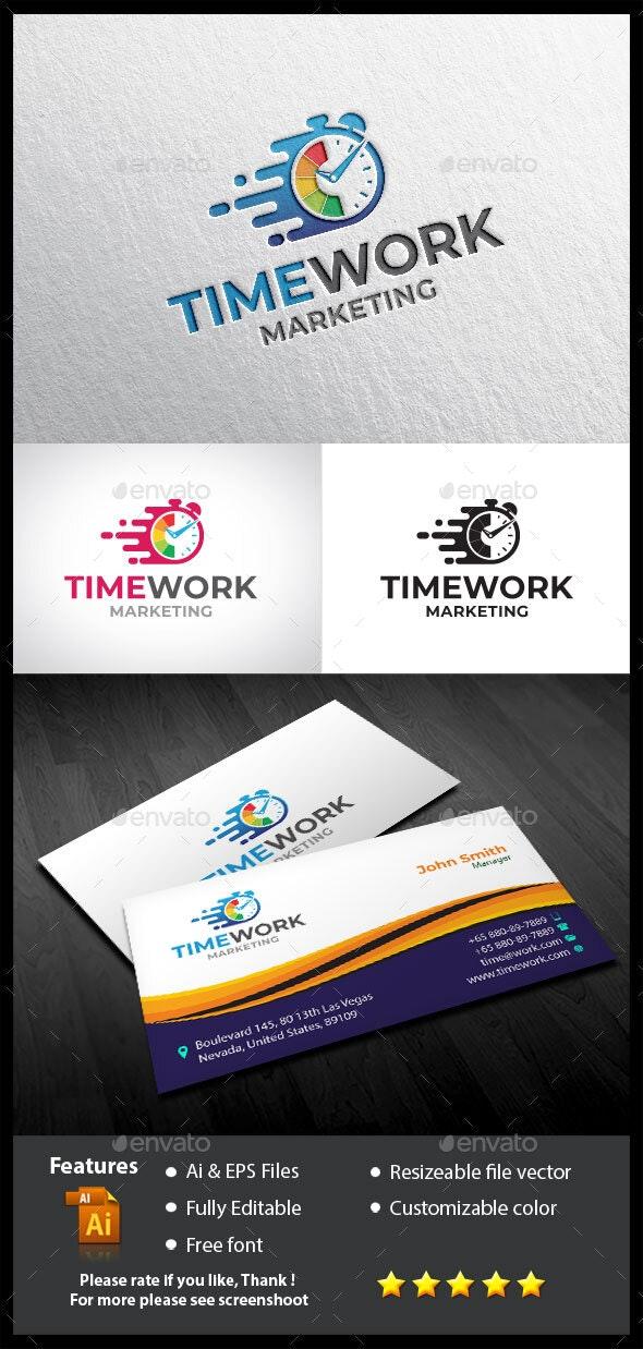 Times Work Logo - Symbols Logo Templates