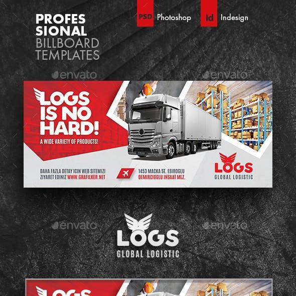 Logistics Billboard Templates