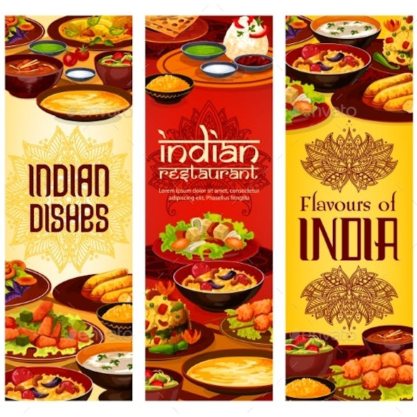 Indian Food Menu Covers Authentic India Dishes