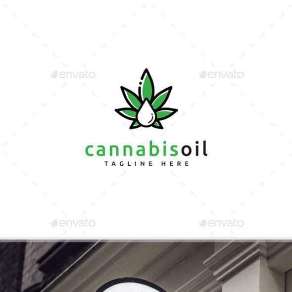 Cannabis Oil Logo